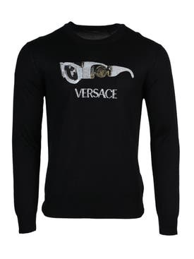Versace - Embellished Graphic Logo Sweatshirt - Men