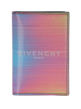 Givenchy - Multicolored Iridescent Bi-fold Card Holder - Men
