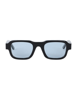 Black Rectangular Isolar Sunglasses