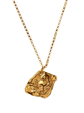 Alighieri - 24kt Gold-plated Bronze Tiger Necklace - Women