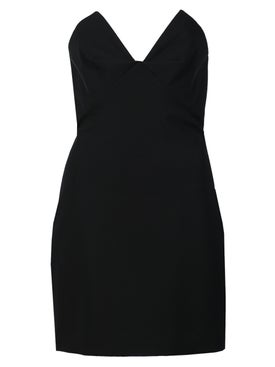 Cushnie - Strapless Bustier Mini Dress - Evening