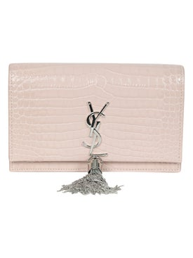 Saint Laurent - Kate Croc Wallet On Chain - Crossbody