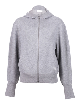 Chloé - Hooded Cashmere Zip-up Hoodie - Women