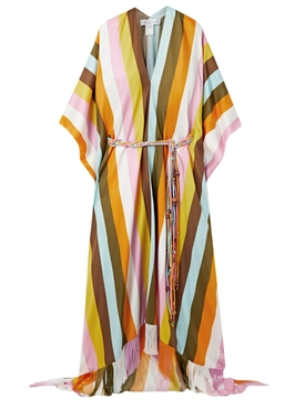 Oscar De La Renta - Multicolored Stripe Caftan - Women