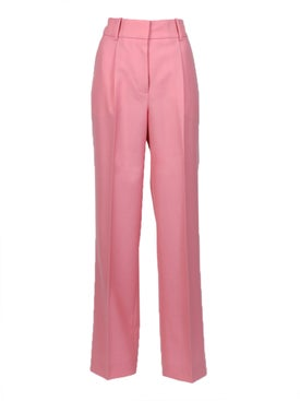 Givenchy - High Waist Trousers, Flamingo Pink - Women