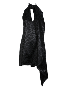 Givenchy - Neck Scarf Mini Dress - Women