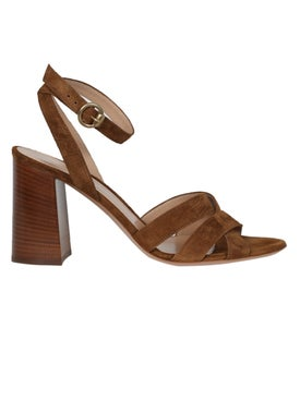 Gianvito Rossi - Ankle Strap Sandal, Texas Brown - Women