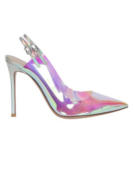 Gianvito Rossi - Holographic Kyle Pump - Women