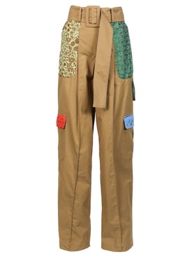 Rosie Assoulin - High Waisted Patchwork Cargo Trousers - Women