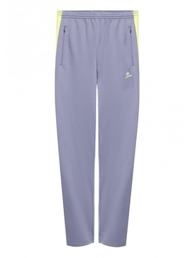 Contrasting logo tracksuit pants GREY/FLUO YELLOW