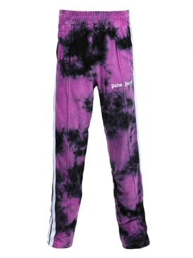 Tie-dye track pants PURPLE