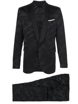 Woven Design Suit