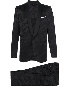 Neil Barrett - Woven Design Suit - Men