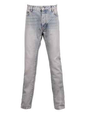 Palm Angels - Light Blue Logo Jeans - Men