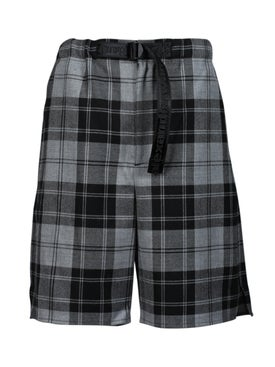 Alexanderwang - Wool Tartan Shorts - Men