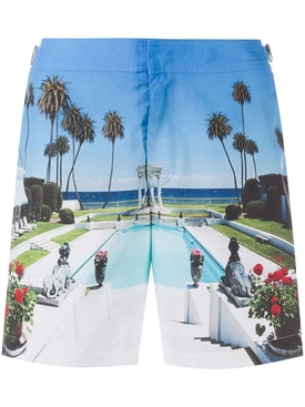 Life is cool by the pool swim shorts