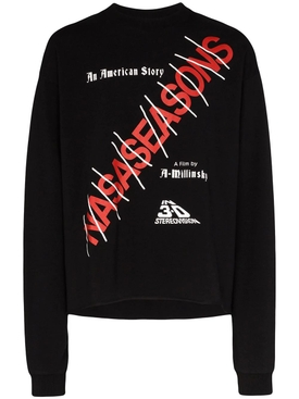 Nasaseasons - American Story Logo Sweater - Men