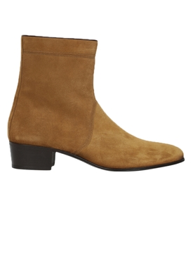 tan suede dylan boots