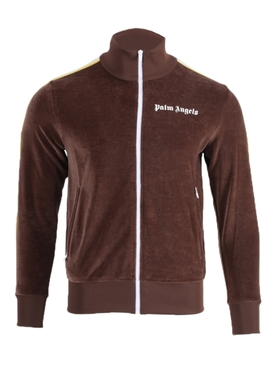 Palm Angels - Side Stripe Logo Track Jacket Brown - Men