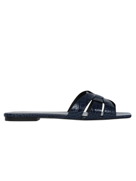 Saint Laurent - Nu Pieds Slide, New Cobalt Blue - Women