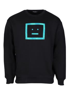 Acne Studios - Forba Check Face Sweatshirt - Men