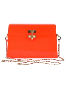 Edie Parker - Miss Mini Crossbody, Orange - Women