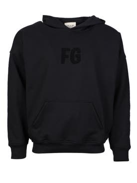 Fear Of God - Everyday Fg Hoodie Black - Men
