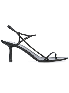 Bare heeled Sandal 65MM BLACK