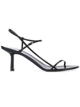Bare heeled Sandal 65MM BLACK