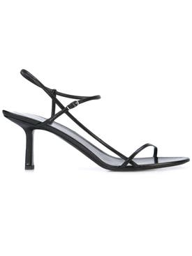 The Row - Bare Heeled Sandal 65mm Black - Women