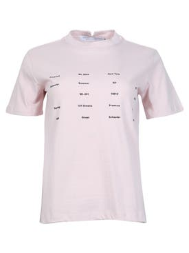Proenza Schouler White Label - Address And Seasonal T-shirt - Women