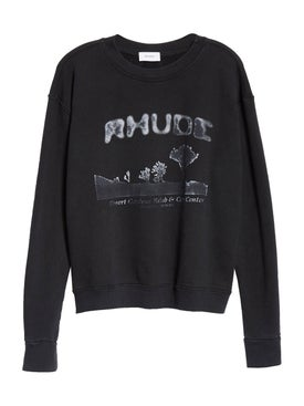 Rhude - Black Desert Crewneck Sweatshirt - Men