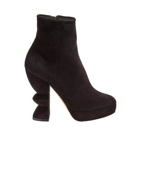 Salvatore Ferragamo - Sculptural Ankle Boot - Women