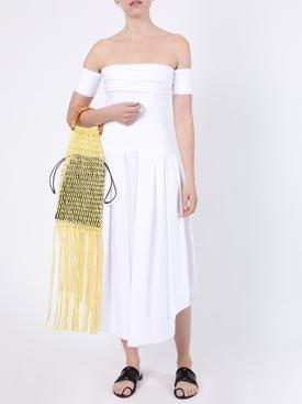 Amanda off-shoulder dress white