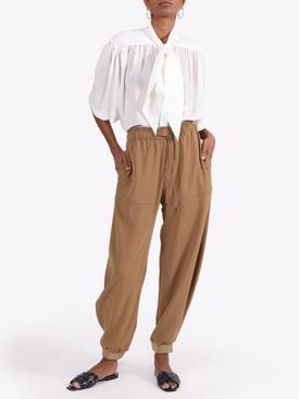 Wide-leg track pants