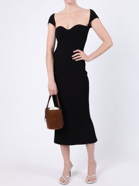 Allegra Cap Sleeve Bustier Dress