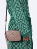 Gucci - Mini Marmont Shoulder Bag Dusty Pink - Women