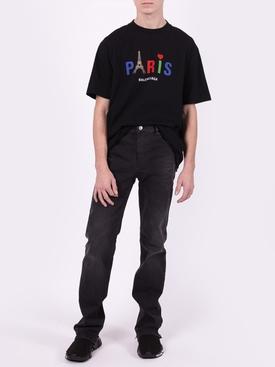 Paris Eiffel Logo T-shirt