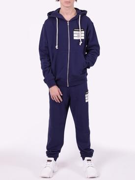 Stereotype drawstring hoodie BLUE