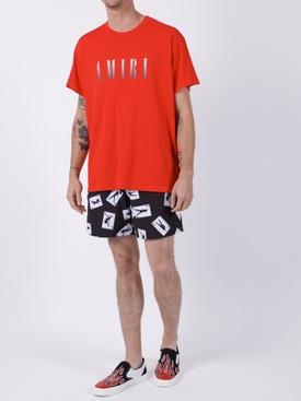 Card print shorts