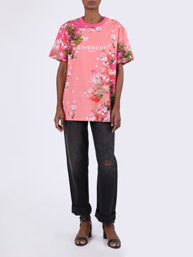 Givenchy - Cherry Blossom Logo T-shirt - Women
