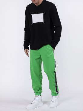 Givenchy - Ticker Logo Tape Sweatpants - Men