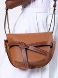 Loewe - Small Gate Bag Light Brown - Women