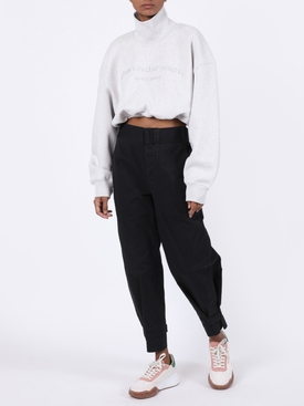 COTTON BELTED PANT