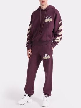 TAPE ARROWS SLIM SWEATPANT PURPLE