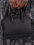 Givenchy - Pebbled Antigona Bag Black - Women