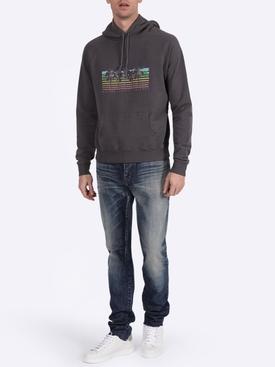 Raglan sleeved hoodie