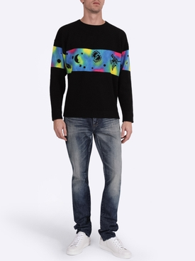 Galactic Dye Rambler Sweatshirt
