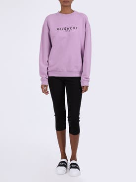 Givenchy - Distressed Purple Sweatshirt - Women