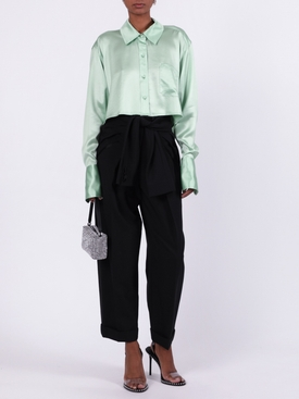Cropped long-sleeved top MINT